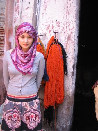 Riad Tizwa: wool market