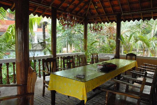 Maharaju Palace: breakfastplace