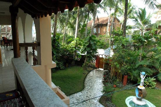 Maharaju Palace: garden