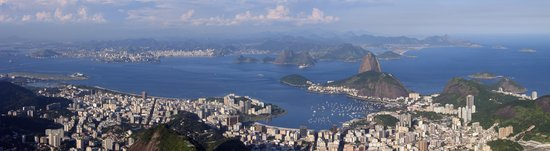 Brasilien: View from Corcovado