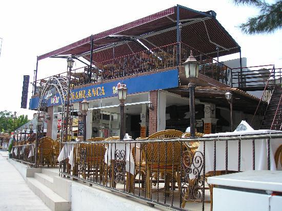 kusadasi turkey casablanca restaurant