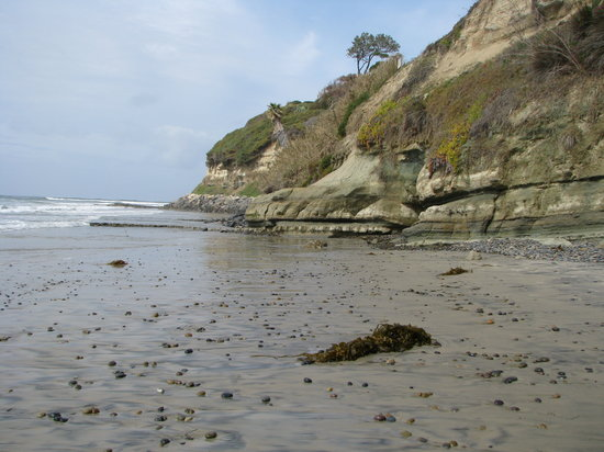 Encinitas, Californie : Swamis Beach