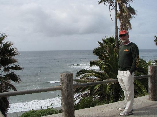 Swami's Beach: Above Swamis Beach
