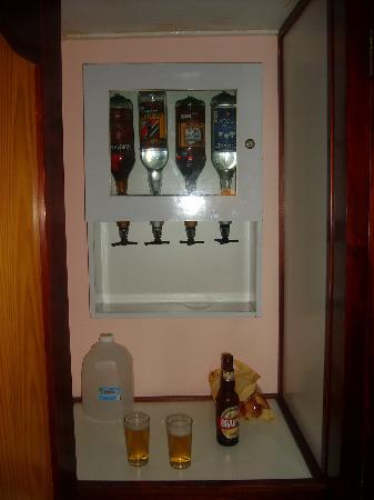 Hotel Riu Naiboa: minibar