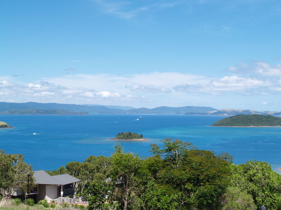 Isla de Hamilton, Australia: View from Hamilton Island