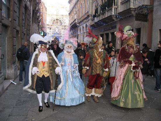 Pensione La Calcina: Carnaval