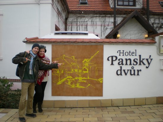 Pansky Dvur Prague: At departure
