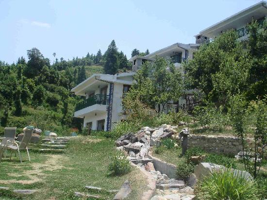 The Terraces: View of resort
