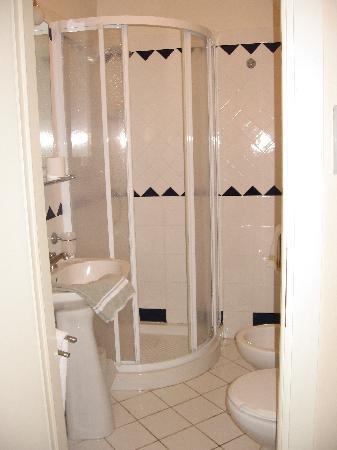 Residenza Giotto: el baño