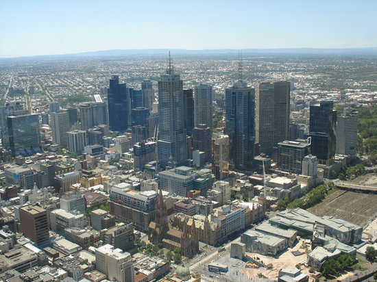 Melbourne, Australië: View from Eureka Skydeck