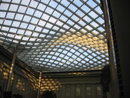Smithsonian American Art Museum's Atrium Roof