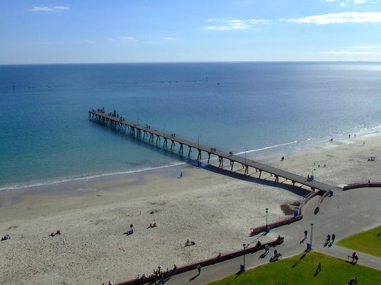Adelaide, Australien: Glenelg Beach and Jetty