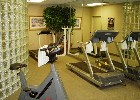 Exercise room picture of hampton inn clarks summit for T and c bedrooms reviews