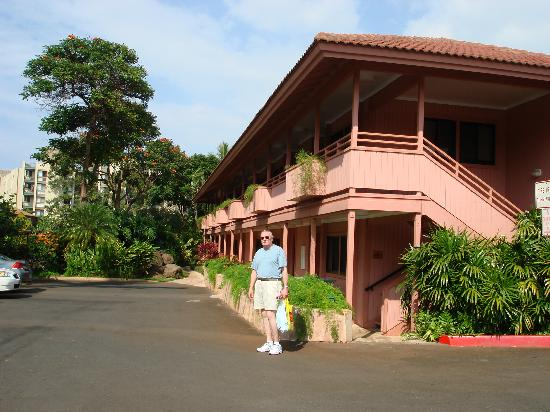 Kahana Falls: Our building