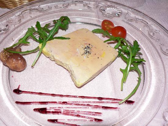 Auberge Saint Jacques : foie gras