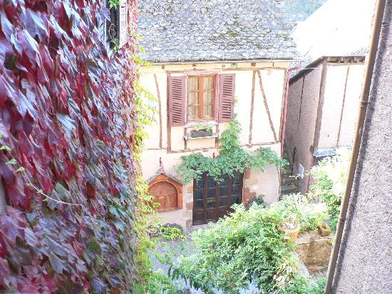 Auberge Saint Jacques : view from my little terrace