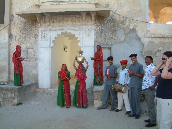 Sardargarh Heritage Hotel : Empfang