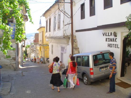 Villa Konak Hotel Kusadasi: A step hill