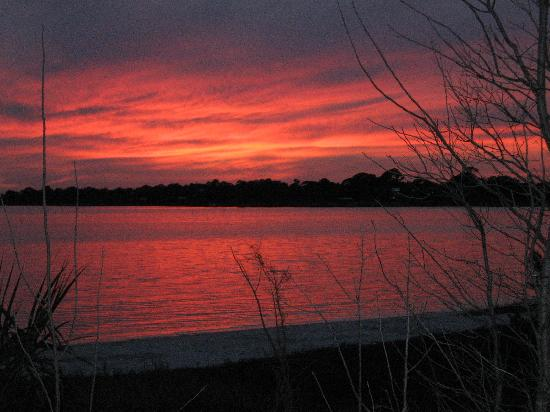 Cedar Key, FL: sunset view from Far Away Inn