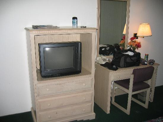Quality Inn: Room TV