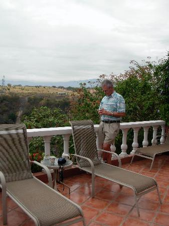 Casa Bella Rita Boutique Bed & Breakfast: Waiting for sunset over the canyon