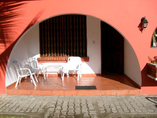 Apartotel Flamboyant: Room entrance