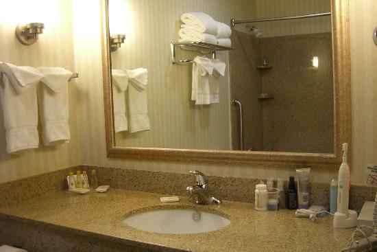 Holiday Inn Express San Diego South - Chula Vista: bathroom