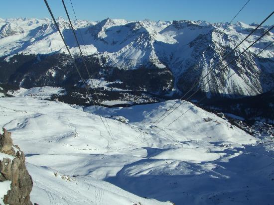 The Excelsior: View from the cable car peak