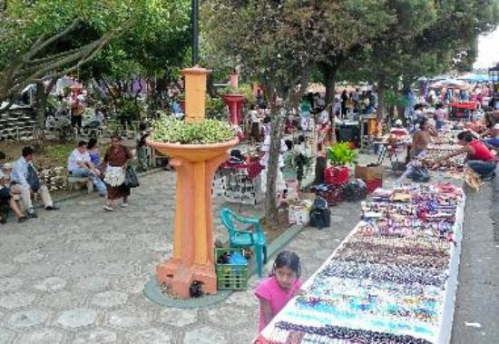 Juayua -one of the towns in the Culture and craft tour