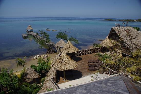 Tranquilseas Eco Lodge and Dive Center: Can't beat this!!!