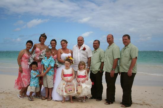 Occidental Grand Punta Cana: Our Wedding Party