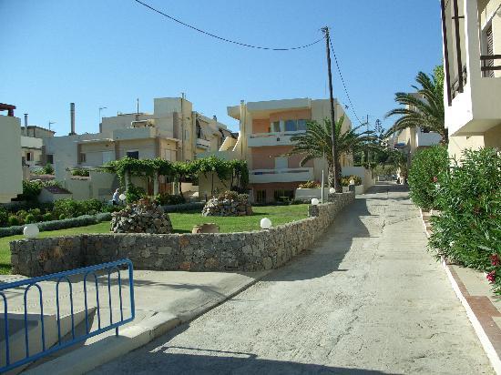 Danaos Beach Hotel: Beach is behind my back :-)