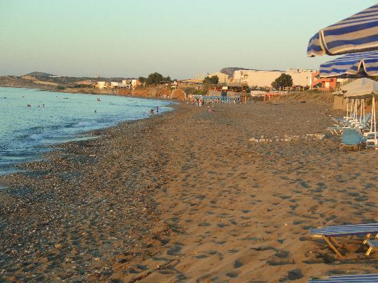 Danaos Beach Hotel: Danaos beach at sunset