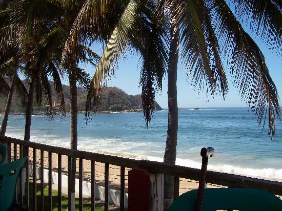 Hotel Barra de Navidad: view from My room
