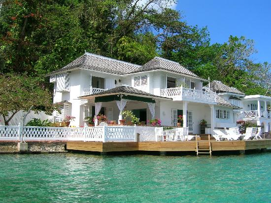 Port Antonio, Jamaica: villa near Blue Lagoon
