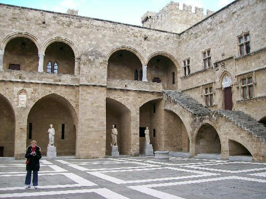 Palace of Grand Master of Knights: Interior Court Yard