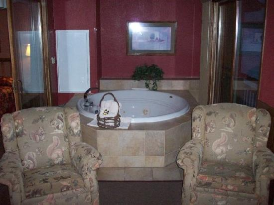 Wilderness on the Lake : Jacuzzi