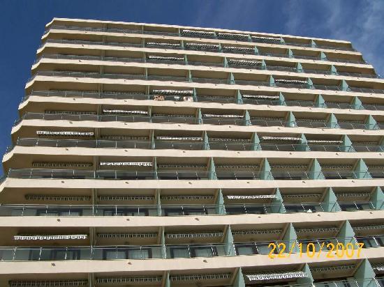 Hotel Cimbel: Skyscraper in Benidorm!