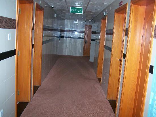 San Marco Hotel: Third Floor Hallway