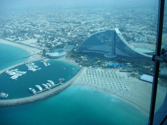 View from burj al arab hotel picture of jumeirah beach for Tripadvisor dubai hotels