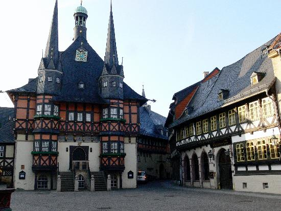 Wernigerode town hall and hotel is the building on the