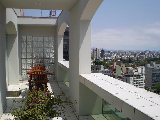 Swissôtel Lima: The balcony
