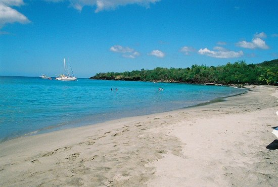 Anse Cochon, Saint Lucia: The Beach at Ti Kaye