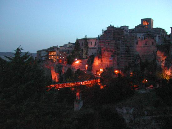 Parador de Cuenca: Cuenca at night