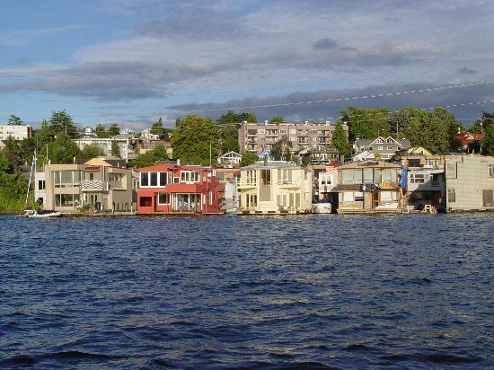 Houseboats On Lake Union From The Ducks Picture Of Ride