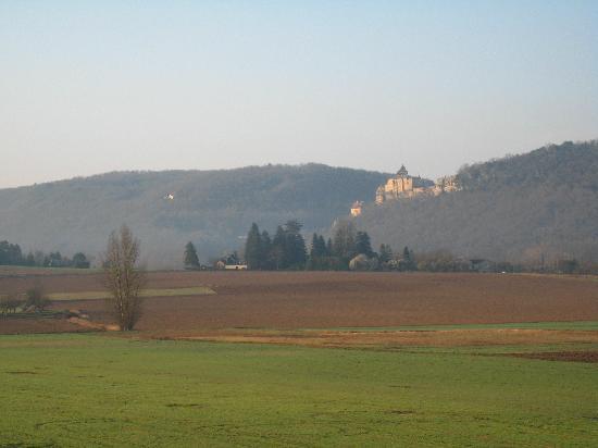 Le Relais des Cinq Chateaux : vue côté jar'din...