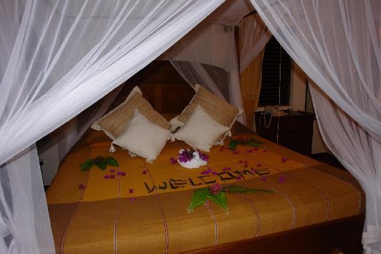 Ti Kaye Resort & Spa: the bed-room Nich