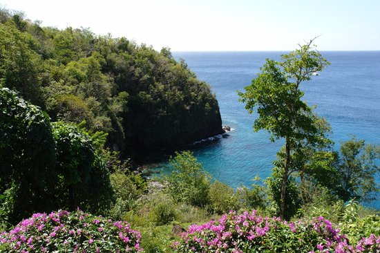 Anse Cochon, St. Lucia: the view