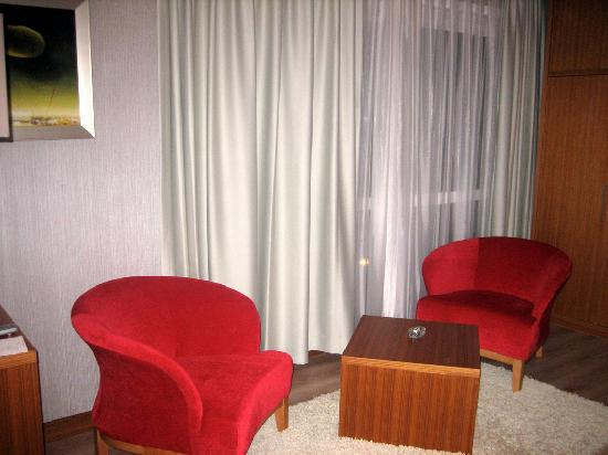 Dragos Park Hotel : View of the room 2