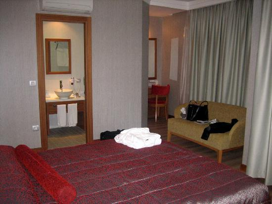 Dragos Park Hotel : View of the room 3